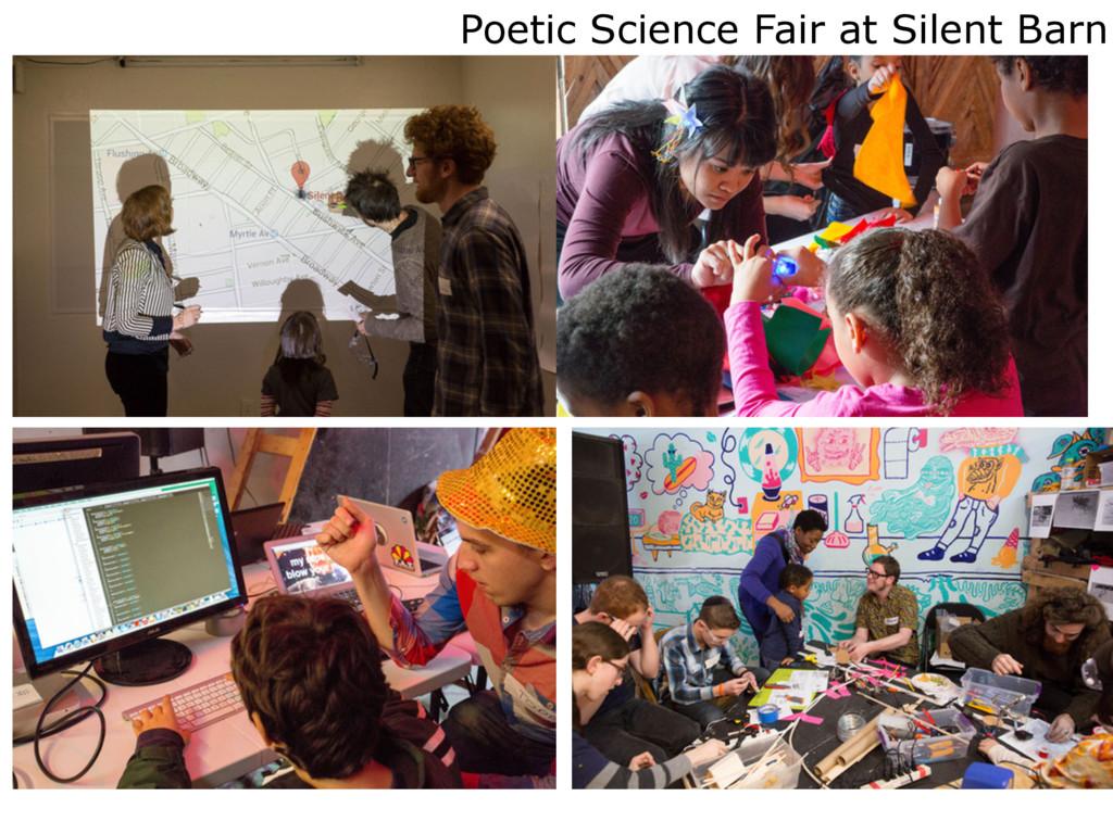 Poetic Science Fair at Silent Barn