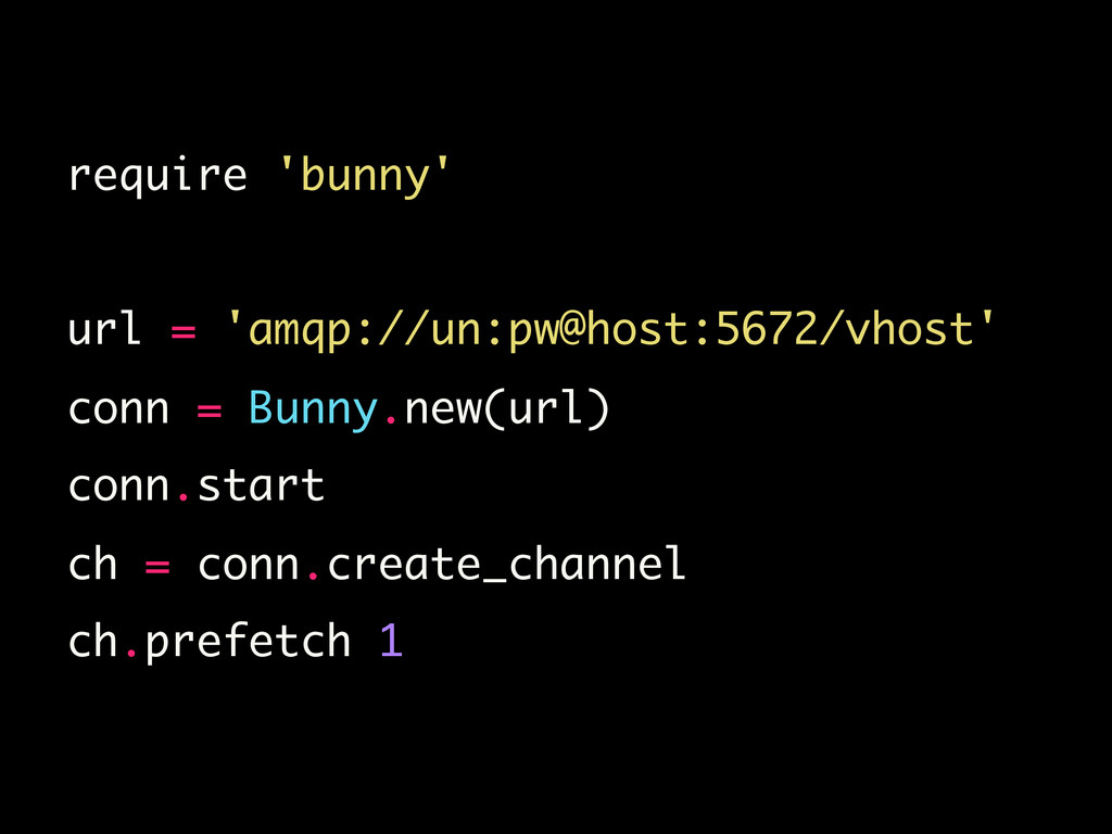 require 'bunny'