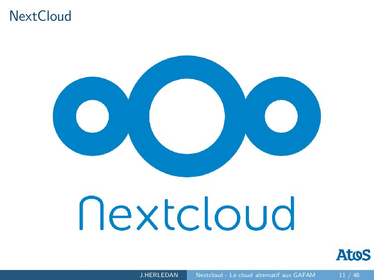NextCloud J.HERLEDAN Nextcloud - Le cloud alter...