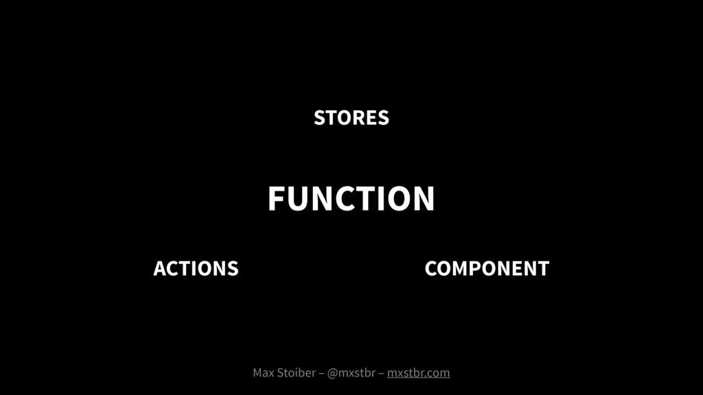 Max Stoiber – @mxstbr – mxstbr.com FUNCTION COM...