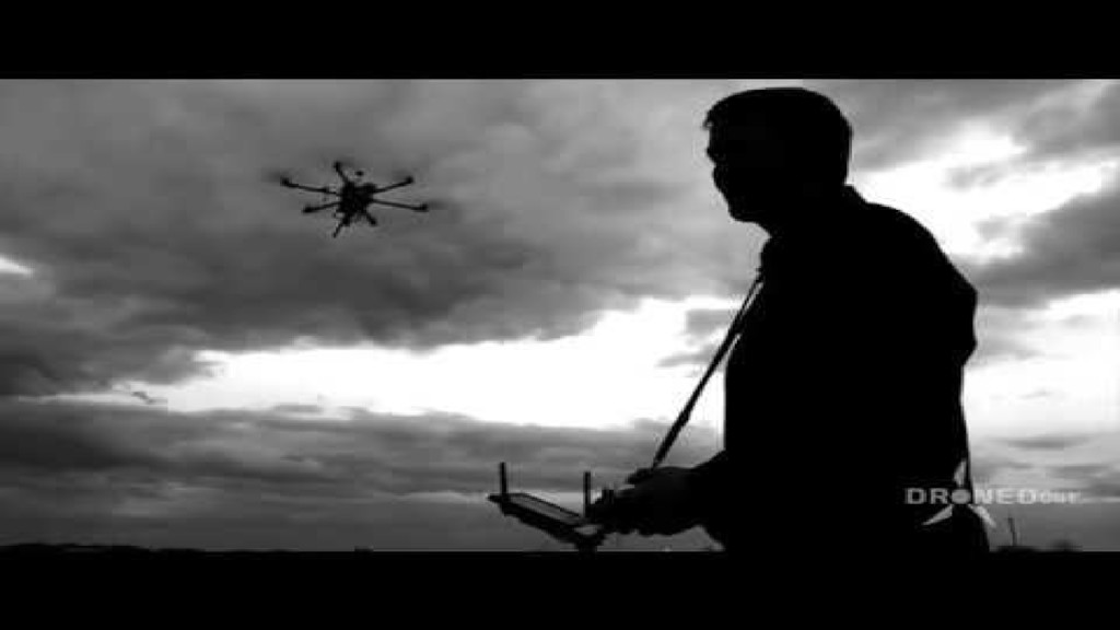 Paintball Battle Drone demo video