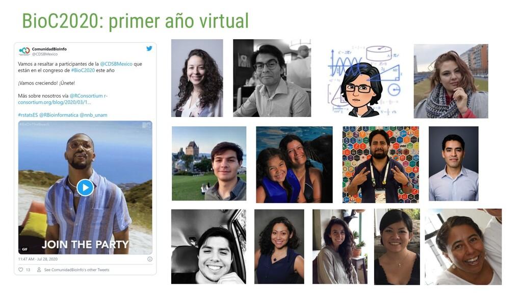 BioC2020: primer año virtual
