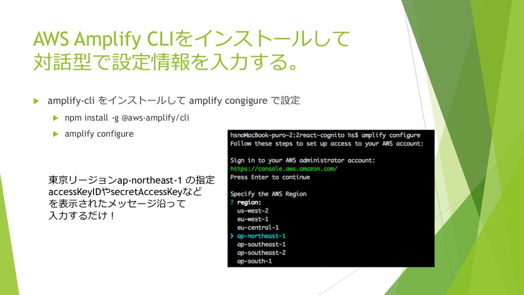 "AWS Amplify CLI ""(-'#+)!$ u ampli..."