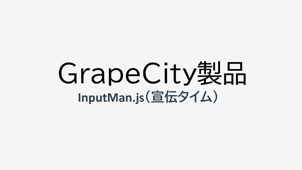 GrapeCity製品 InputMan.js(宣伝タイム)