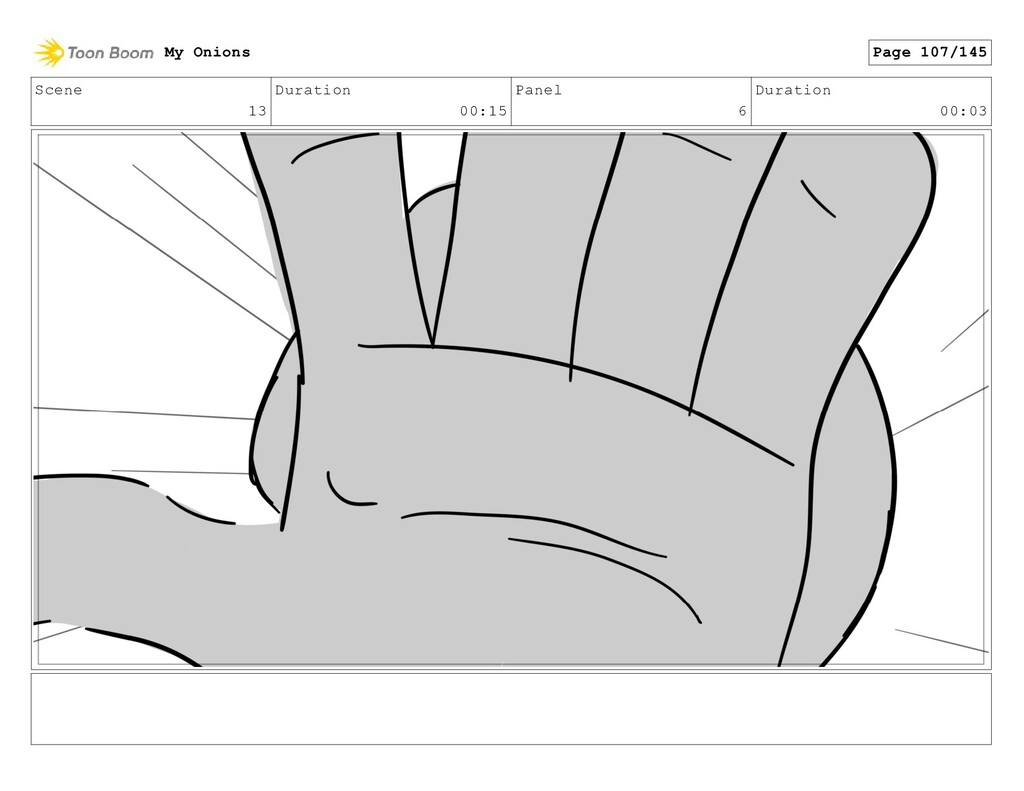 Scene 13 Duration 00:15 Panel 6 Duration 00:03 ...