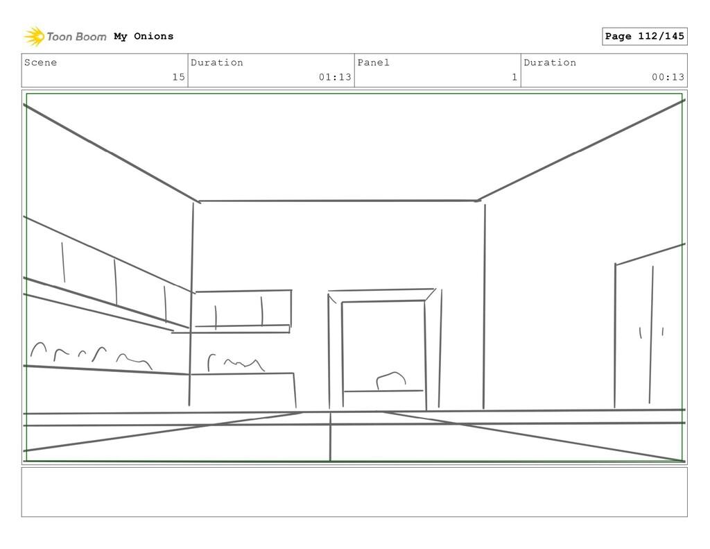Scene 15 Duration 01:13 Panel 1 Duration 00:13 ...