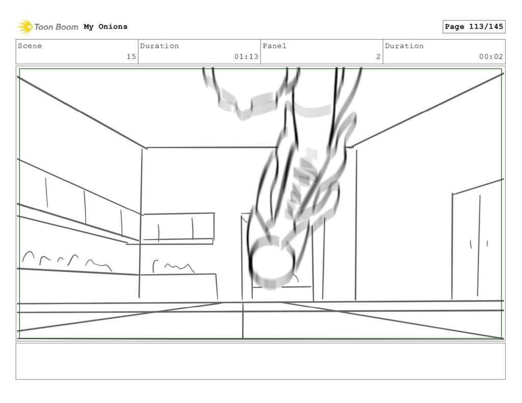 Scene 15 Duration 01:13 Panel 2 Duration 00:02 ...