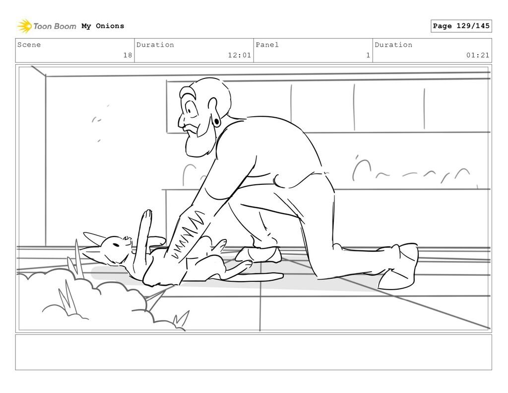 Scene 18 Duration 12:01 Panel 1 Duration 01:21 ...