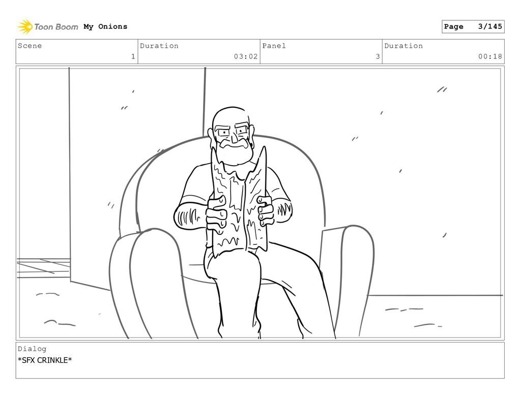 Scene 1 Duration 03:02 Panel 3 Duration 00:18 D...