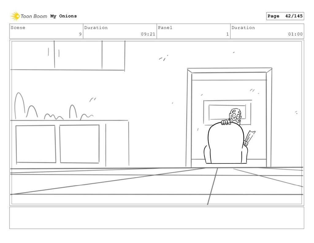 Scene 9 Duration 09:21 Panel 1 Duration 01:00 M...