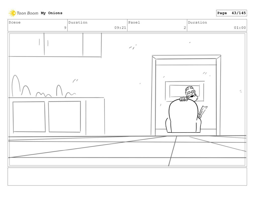 Scene 9 Duration 09:21 Panel 2 Duration 01:00 M...