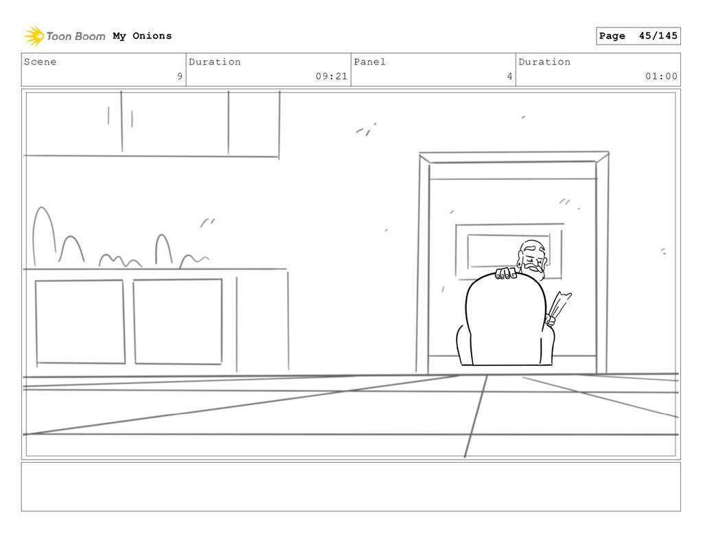 Scene 9 Duration 09:21 Panel 4 Duration 01:00 M...