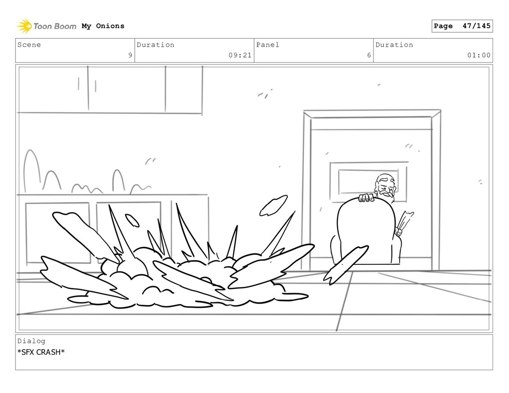 Scene 9 Duration 09:21 Panel 6 Duration 01:00 D...