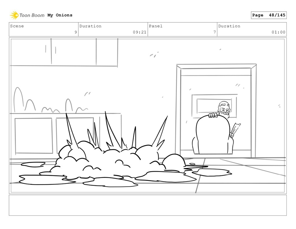 Scene 9 Duration 09:21 Panel 7 Duration 01:00 M...
