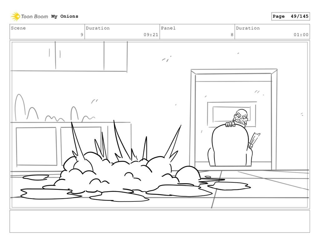 Scene 9 Duration 09:21 Panel 8 Duration 01:00 M...