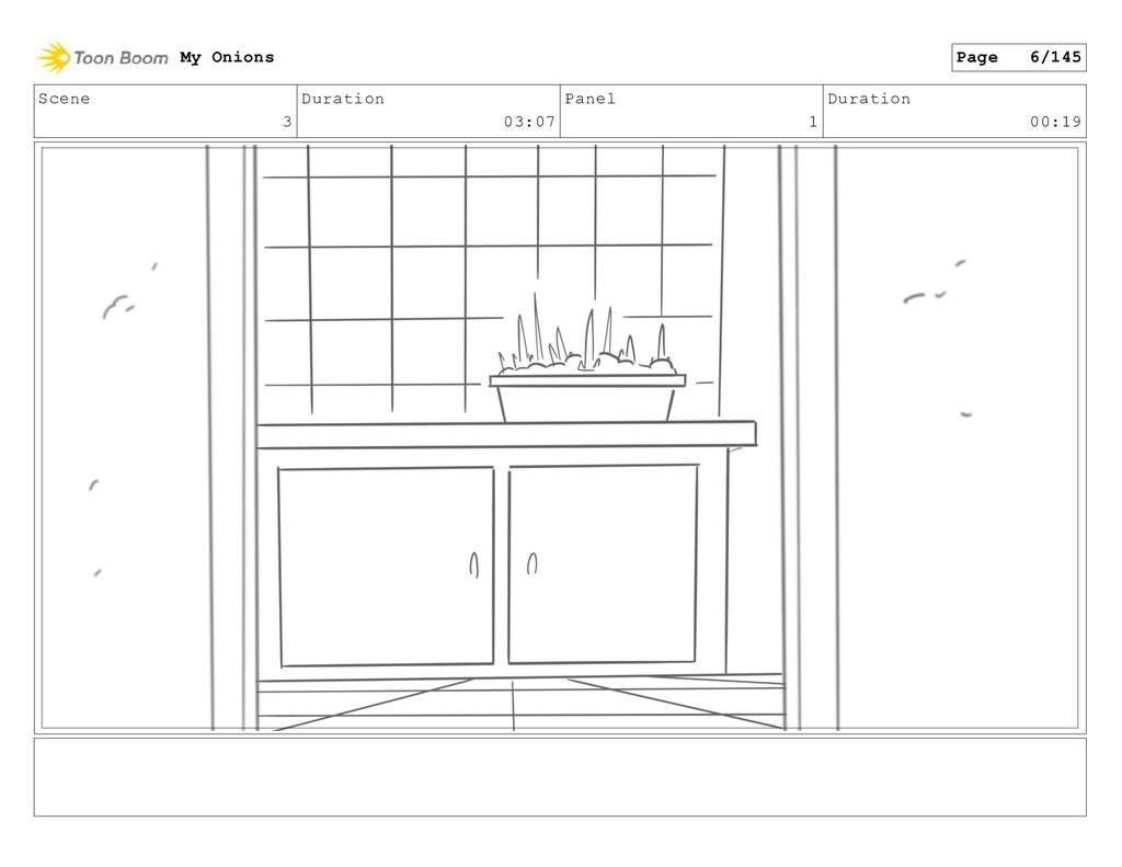Scene 3 Duration 03:07 Panel 1 Duration 00:19 M...