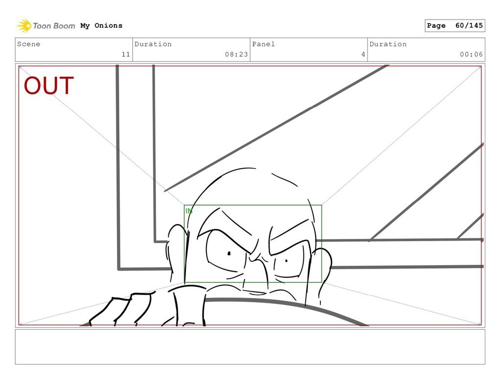 Scene 11 Duration 08:23 Panel 4 Duration 00:06 ...