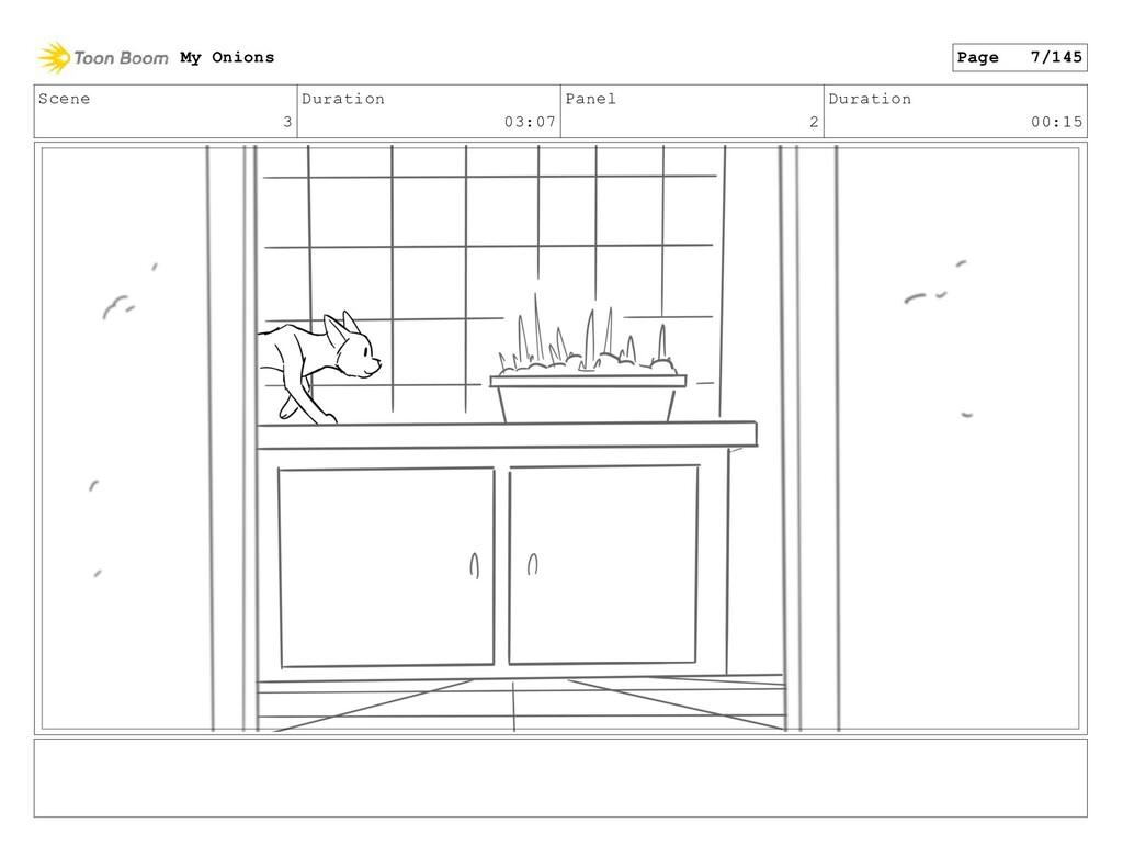 Scene 3 Duration 03:07 Panel 2 Duration 00:15 M...