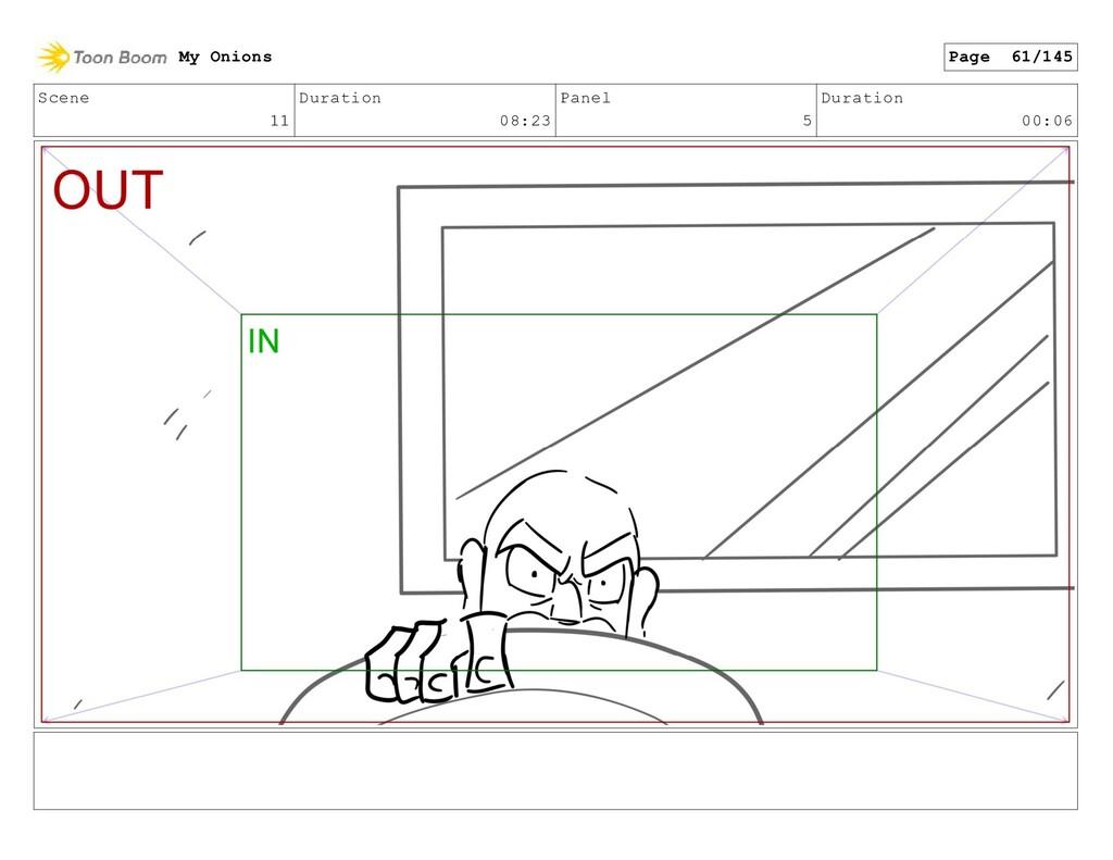Scene 11 Duration 08:23 Panel 5 Duration 00:06 ...