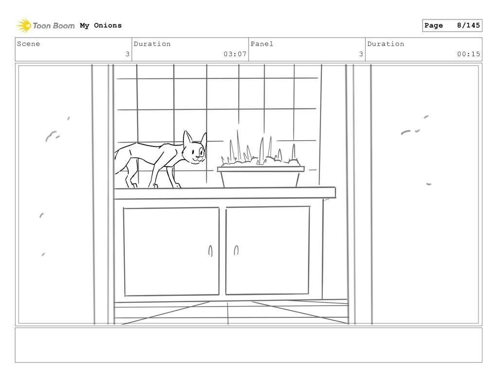 Scene 3 Duration 03:07 Panel 3 Duration 00:15 M...
