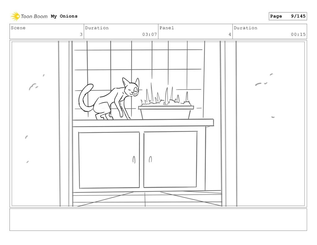 Scene 3 Duration 03:07 Panel 4 Duration 00:15 M...
