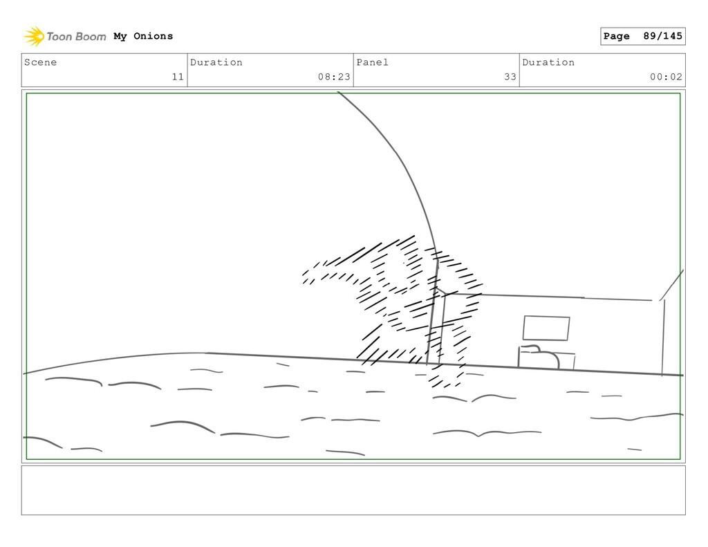 Scene 11 Duration 08:23 Panel 33 Duration 00:02...
