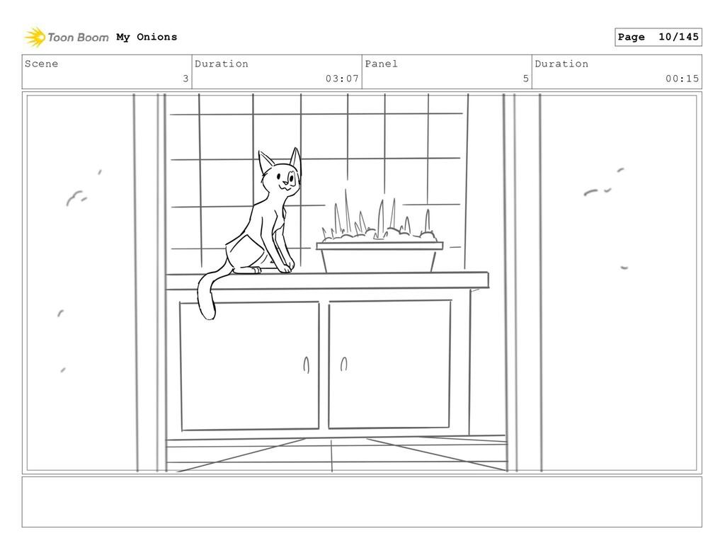 Scene 3 Duration 03:07 Panel 5 Duration 00:15 M...