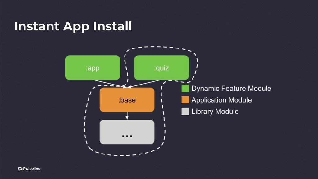 Instant App Install