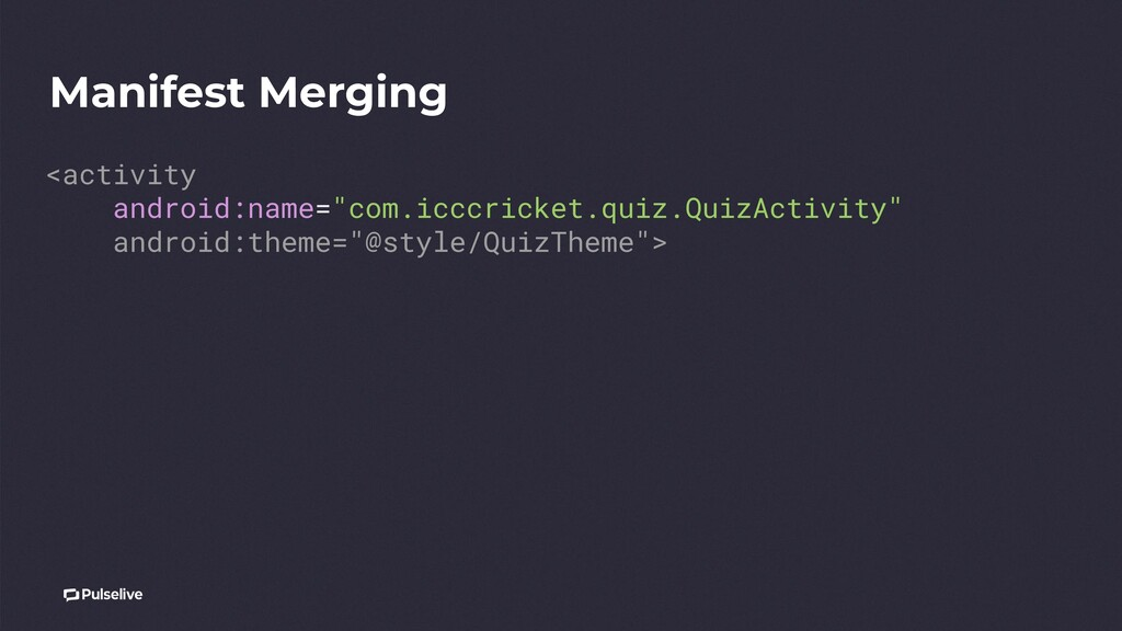 """Manifest Merging <activity android:name=""""com.ic..."""