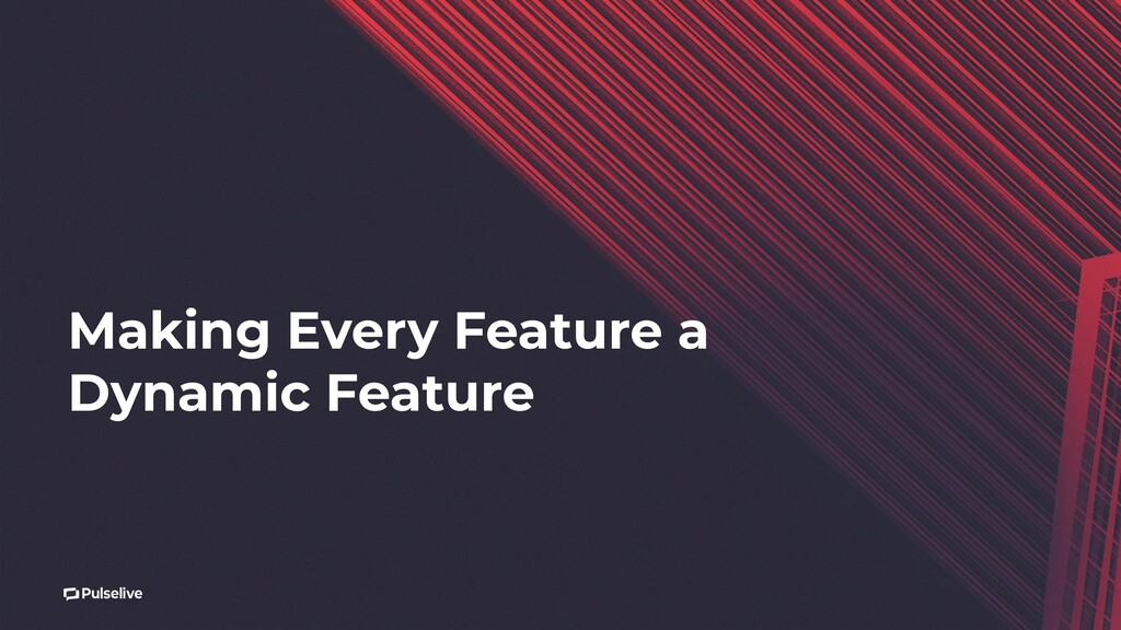 Making Every Feature a Dynamic Feature