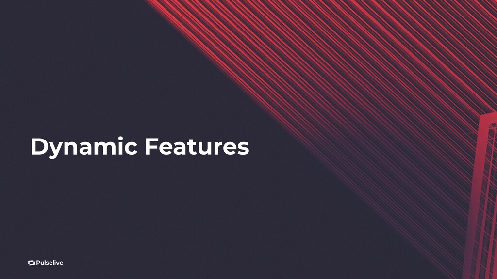 Dynamic Features