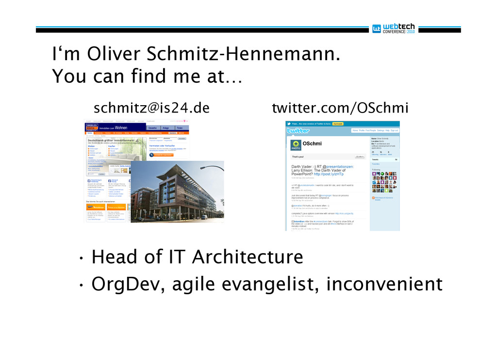 I'm Oliver Schmitz-Hennemann. You can find me a...