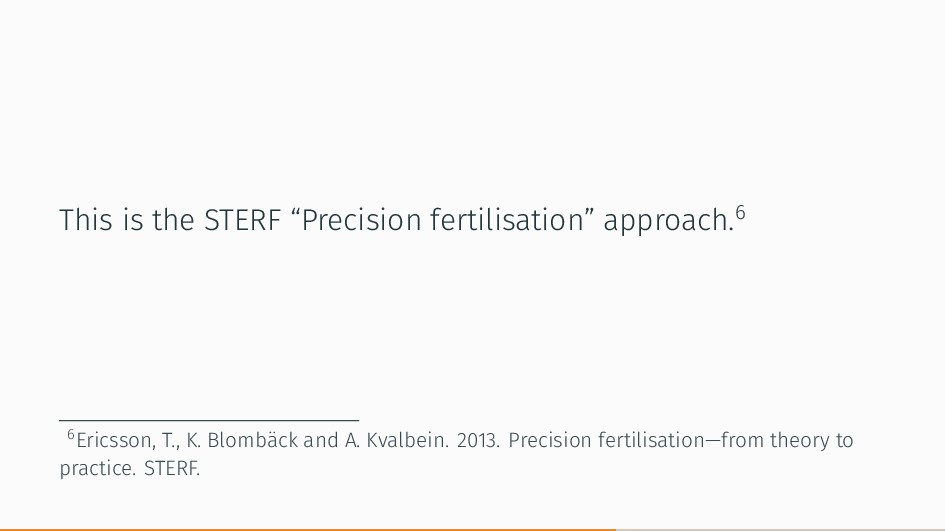 """This is the STERF """"Precision fertilisation"""" app..."""