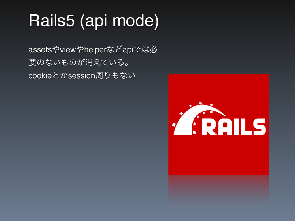 Rails5 (api mode) assetsviewhelperͳͲapiͰඞ ཁͷ...