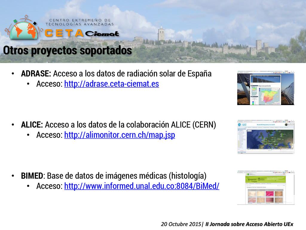 • ADRASE: Acceso a los datos de radiación solar...