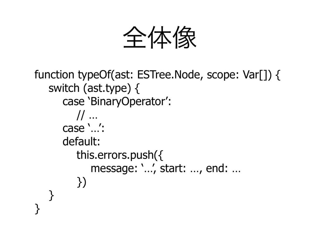 શମ૾ function typeOf(ast: ESTree.Node, scope: Va...