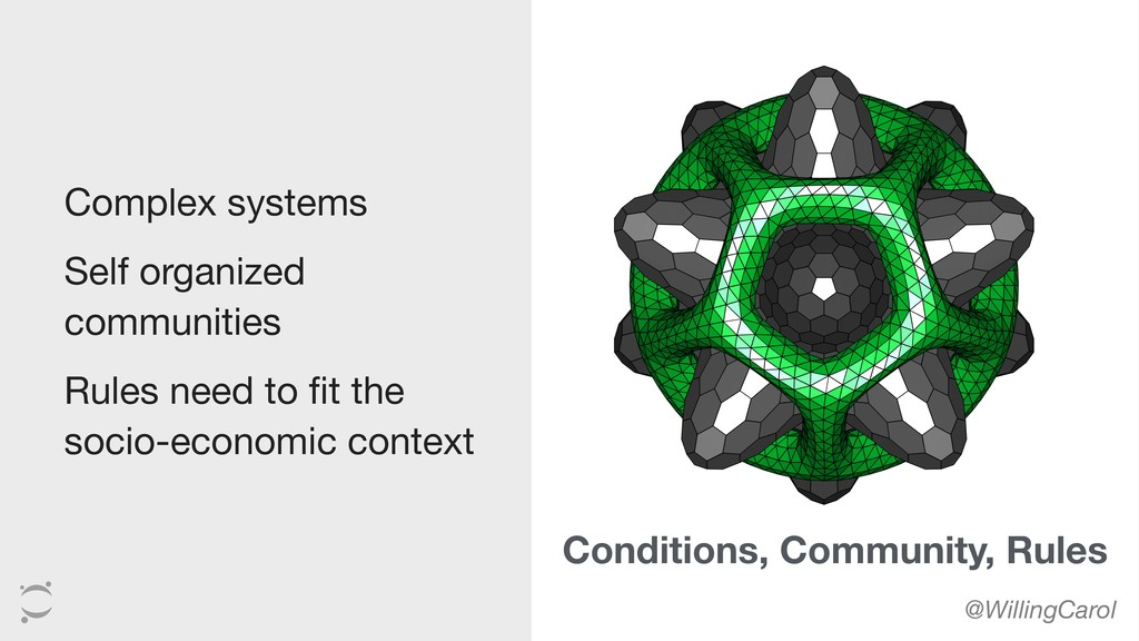 Complex systems  Self organized communities  ...