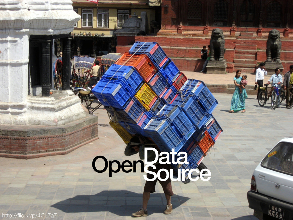 open source + open data • desired differentiato...