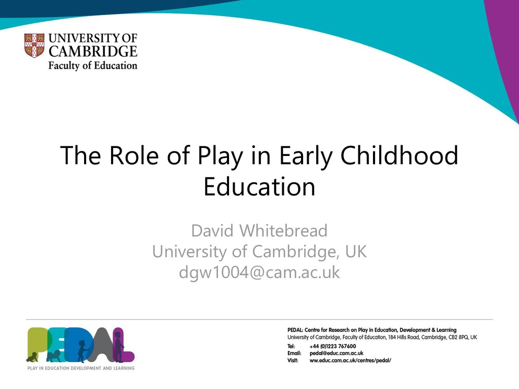 The Role of Play in Early Childhood Education D...
