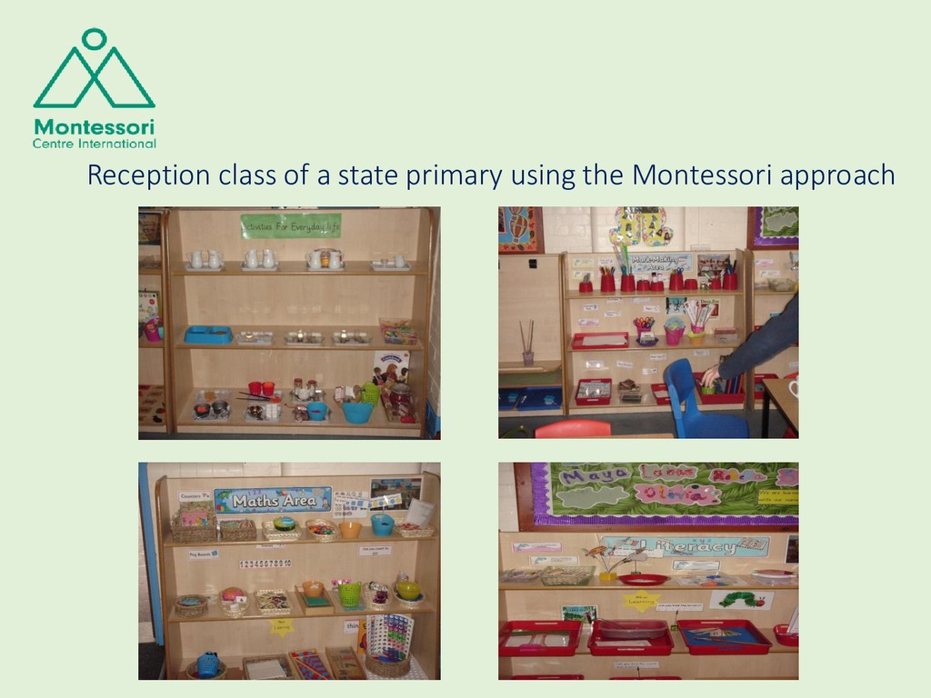 Reception class of a state primary using the Mo...
