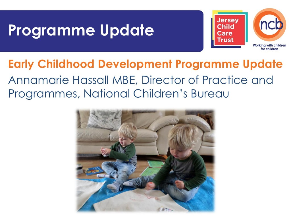 Early Childhood Development Programme Update An...