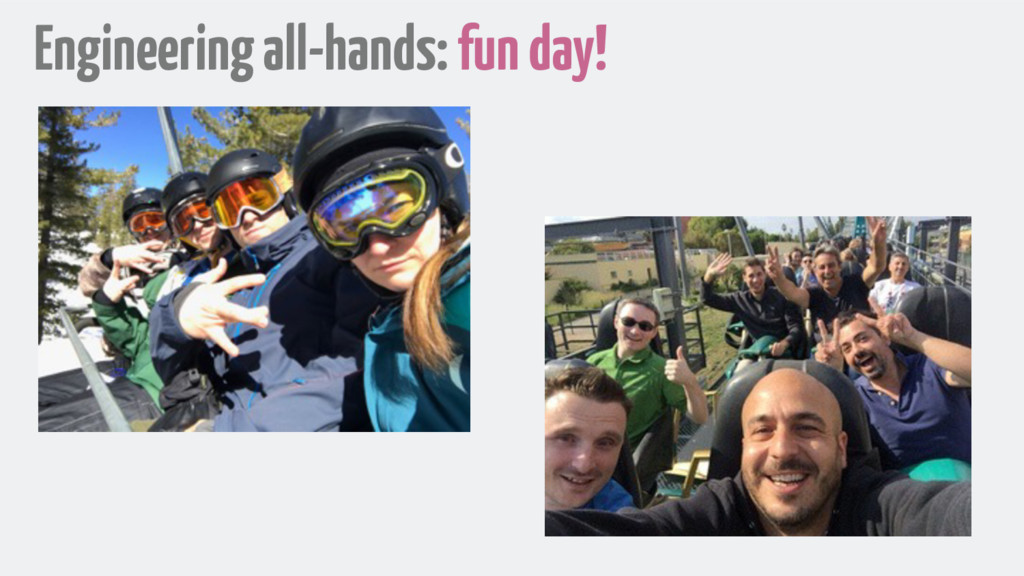 Engineering all-hands: fun day!