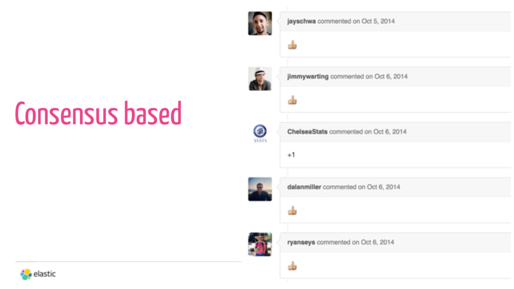 34 Consensus based