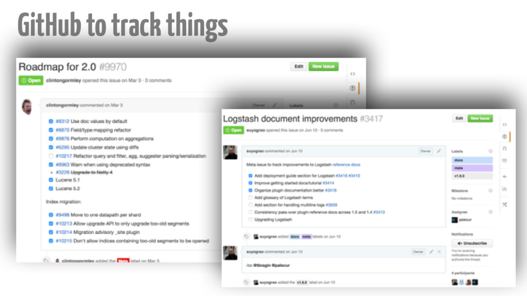 ‹#› GitHub to track things