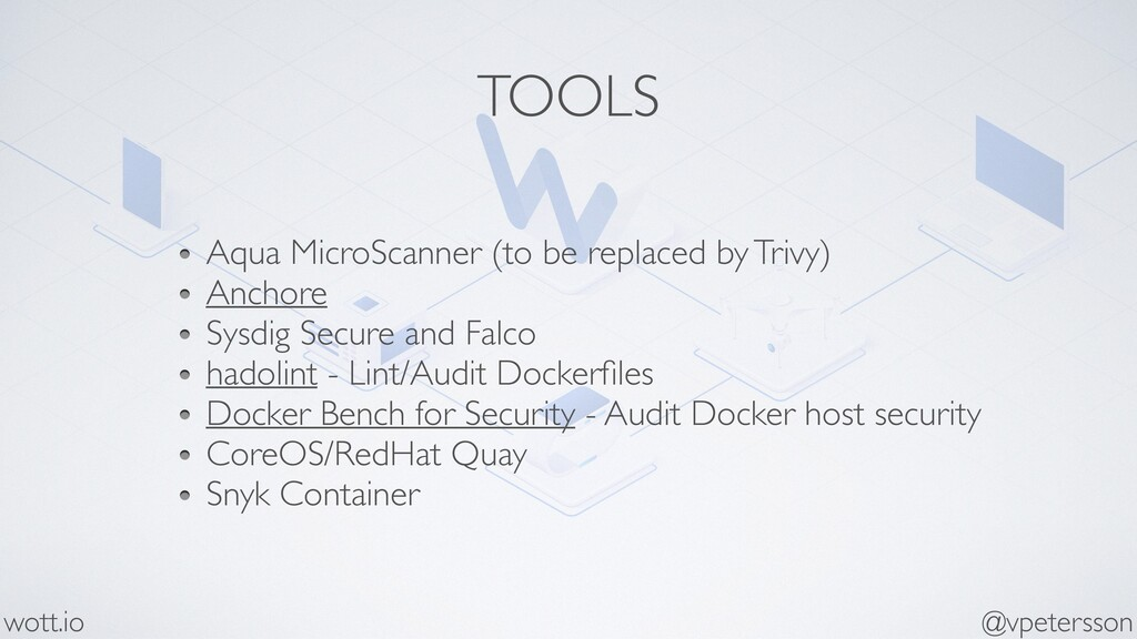 TOOLS Aqua MicroScanner (to be replaced by Triv...