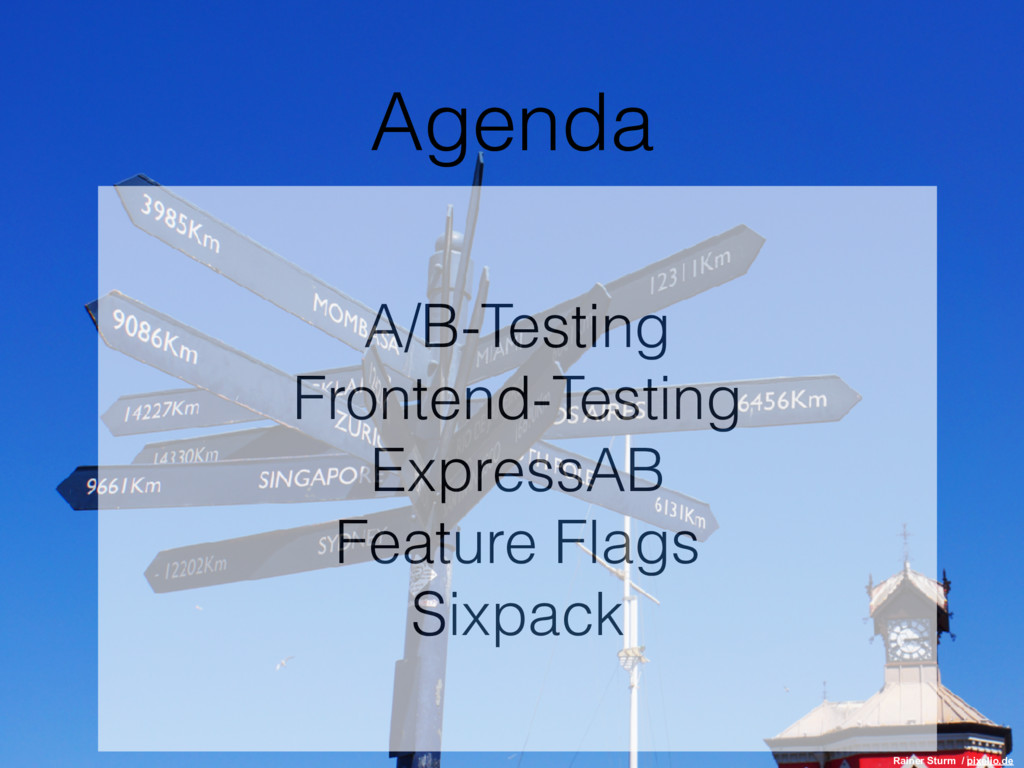 A/B-Testing Frontend-Testing ExpressAB Feature ...