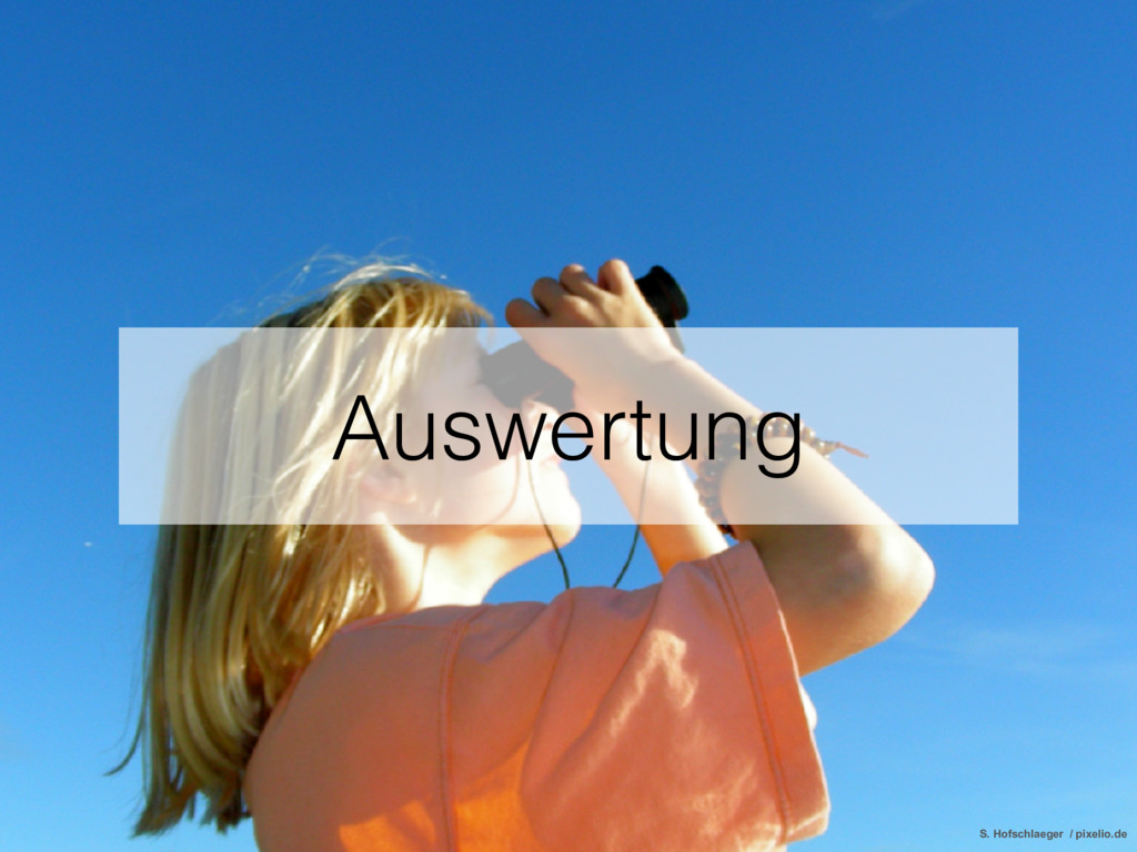 Auswertung S. Hofschlaeger / pixelio.de