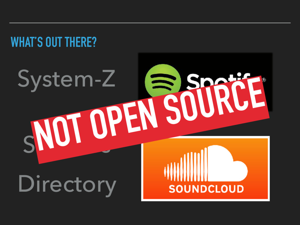 WHAT'S OUT THERE? System-Z Services Directory N...