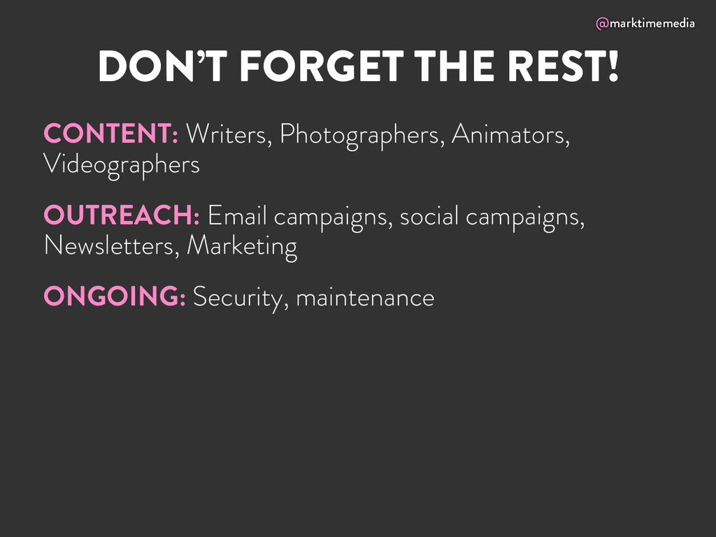 @marktimemedia DON'T FORGET THE REST! CONTENT: ...