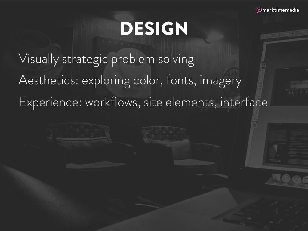 @marktimemedia DESIGN Visually strategic proble...